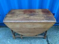 Oak gate leg table FREE DELIVERY PLYMOUTH AREA
