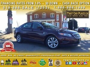 2011 Ford Taurus SEL-$53/Wk-Htd Lthr & Massage Sts-Paddle Shifte