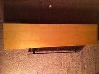 IKEA chunky pine floating shelf - good condition