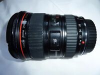 Canon 17-35mm F2.8 L series wide angle lens