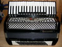 Barcarole, Prominenz, 4 Voice, Double Octave Tuned, 120 Bass, Piano Accordion.