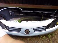 Renault megane front and rear bumper