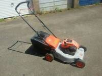 Flymo quicksilver 46 petrol lawnmower In good working order
