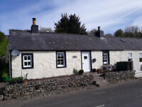 Beautiful One Bedroom Cottage To let in Dumfries and Galloway