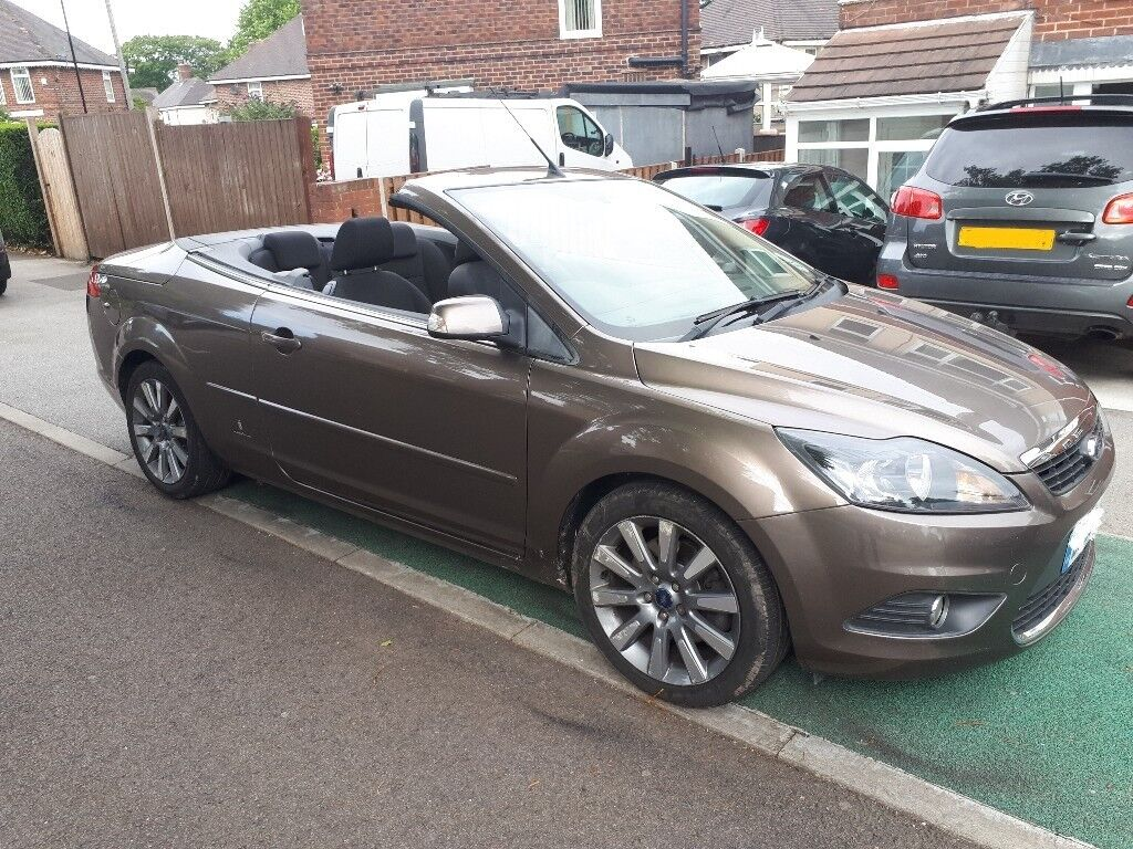2008 08 reg ford focus 2 0 cc 2 climate convertible in sheffield south yorkshire gumtree. Black Bedroom Furniture Sets. Home Design Ideas