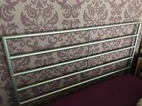 Ikea silver bedframe