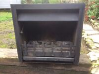 Jetmaster 600 fire with wood burning tray, guard and tool for vent. £120 ono.
