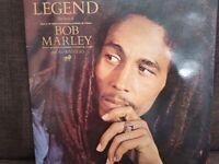 Bob Marley Legend vinyl album.