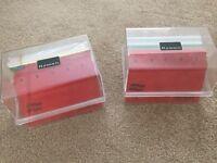 Index Cards, Separators and Box (x2) - Bargain