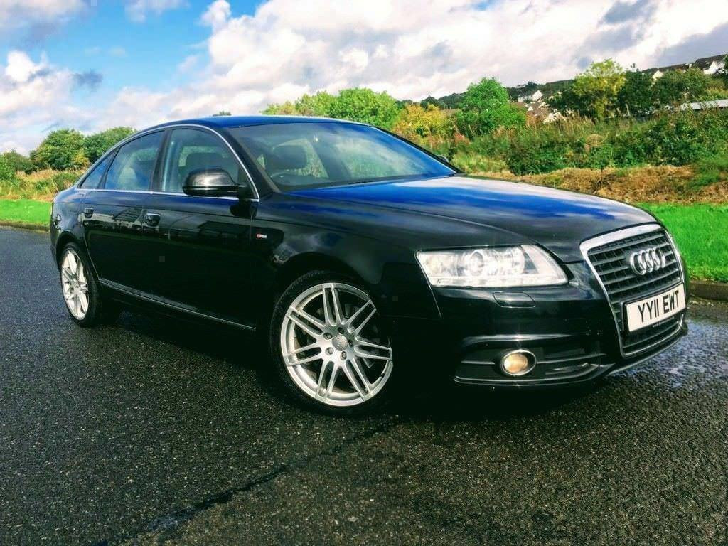 2011 Audi A6 2.0 Tdi S LINE Special Edition in Phantom Black ***FINANCE FROM £54 PER WEEK ***
