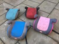 4 Car booster seats