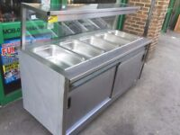 FAST FOOD HOT BAIN MARIE SERVER CATERING COMMERCIAL TAKE AWAY RESTAURANT KITCHEN BBQ KEBAB CHICKEN