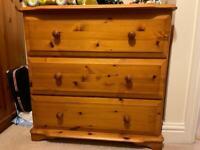 bedroom furniture 5 pieces solid pine