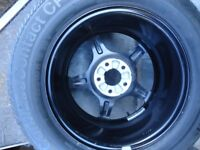 1 x 16 Mercedes SPARE alloy wheels and Tyre's Will Fit VITO/VIANO -S-R class+ New treys