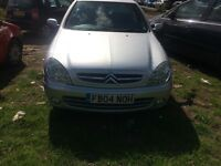 2004 Citroen Xsara LX HDI 5dr Hatchback 2L Diesel Silver BREAKING FOR SPARES