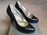 Wallis black shoes (size 39/6)