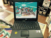 HP COMPAQ NC6400 CORE 2 DUO LAPTOP. WIN 7. MS OFFICE CHEAP.