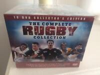 The complete rugby collection DVDs