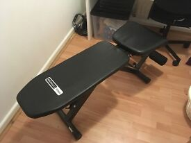 Pro Fitness weights bench in good condition.