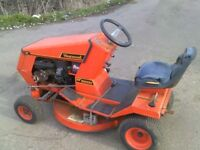 WESTWOOD RIDE ON LAWNMOWER EXPORT RUNS CUTS STABLES BARGAIN LOOK