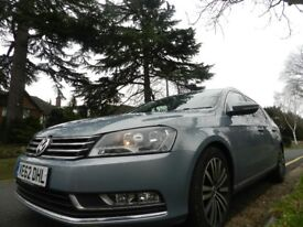 VW PASSAT ESTATE FAMILY CAR FOR SALE- IMMACULATE IN AND OUT, £30 ROAD TAX , CHEAP INSURANCE ****###