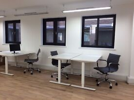 1-2 desks close to London Bridge - £300 per desk per month