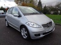 2007 MERCEDES A CLASS AVANTGARDE AUTOMATIC DIESEL LOW MILES,HALF LEATHER INTERIOR,3 MONTHS WARRANTY