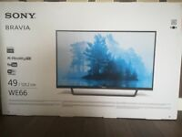 Sony Bravia 49/123.2 cm Brand New Smart TV - Model We66