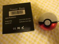 Portable Poké Ball Power Bank Charger for mobiles, ipads etc.