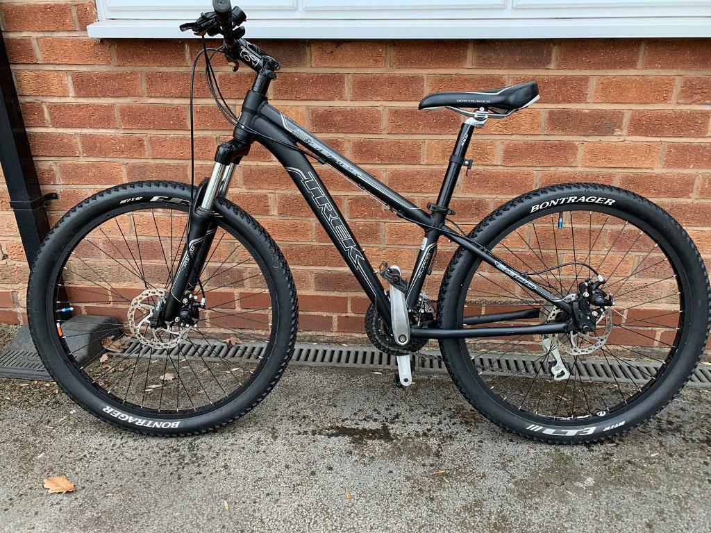 "TREK 3900 Boys 26"" Wheel 13"" Frame Full Disk Front Suspension Mountain Bike  in Black  | in Solihull, West Midlands | Gumtree"
