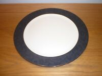 "Wedgwood ' Damask Ebony' Charger Plate. 31cm (12 1/4""dia). 12 Available."