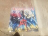 Iron Maiden, the numbers of the beast vynil record