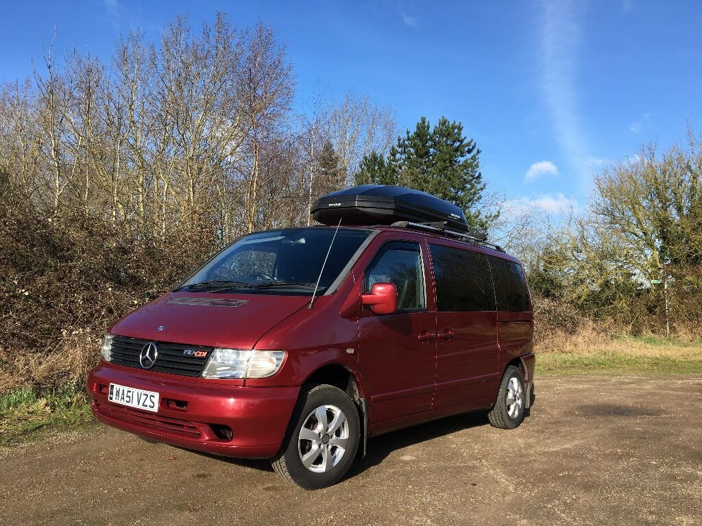 Mercedes-Benz Vito Camper Van in Excellent Condition With ...