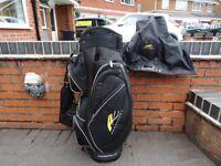 Powakaddy Deluxe Golf Cart/Trolley Bag Good Condition with Rain Hood