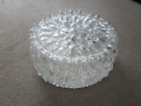 FLUSH ROUND GLASS CEILING LIGHT