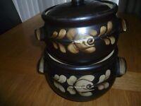 2 Denby Decorative caserole dishes (Unused)