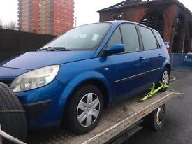 Renault scenic 1.5 dci 2004 breaking for parts all parts available