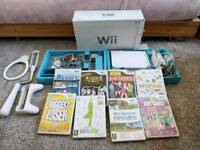 Nintendo wii with box and games!