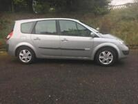 Renault scenic 7 seater low miles 1 years mot like zafira 2006