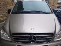 Mercedes Vito Viano Transporter Trafic 9 seater 8 leather diesel no vat minibus