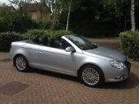 VW Eos 2007 2.0L 200BHP convertible