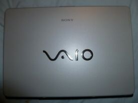 laptop vaio, £10 worked perfect for windows xp but.. taken hard drive out and thrown away