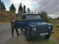 Land Rover Defender 110 TD5 cargo
