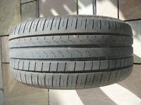 Part worn tyre - PIRELLI CINTURATO P7. Size 245/40 R17 91W