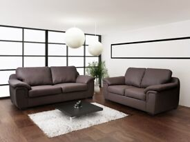 50% REDUCTION ON AMY SOFAS** LEATHER OR FABRIC SOFA SETS, CORNER SOFAS, ARMCHAIRS * FREE DELIVERY*