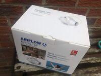 Airflow inline fan