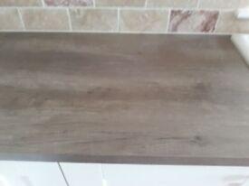 Nebraska oak laminated worktop