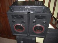 P A or Home Disco Small disco unit, 250 watts