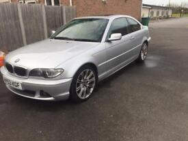 Bmw e46 325ci face lift