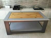 Unique Pine Grey Coffee Table